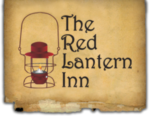 The Red Lantern Inn in Clifton Forge Virginia logo