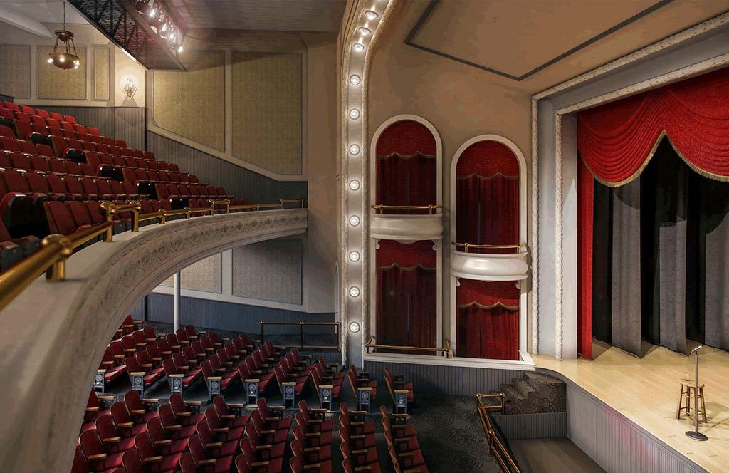 The Historic Masonic Theatre and Masonic Amphitheatre